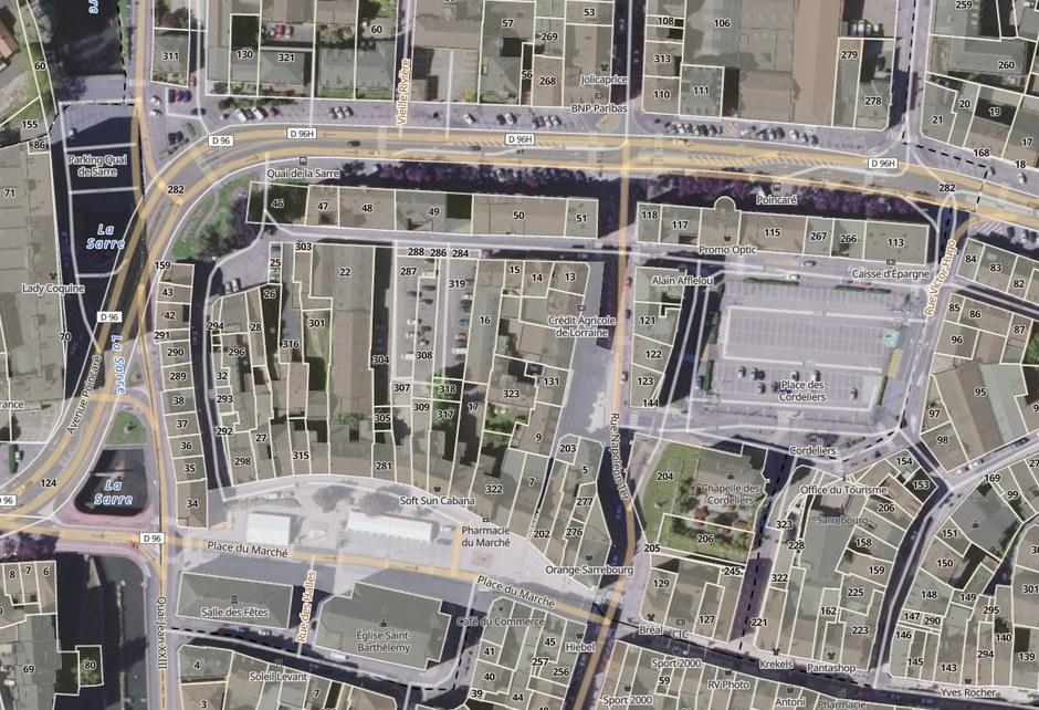 Sarrebourg Concession îlots C et M - plan cadastral général.jpg
