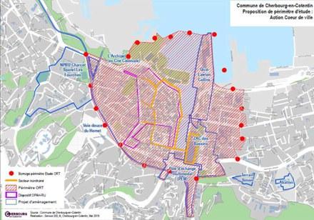 Cherbourg-en-Cotentin périmètre d'études ACV ORT.jpg